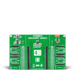 stm32f4 discovery click shield