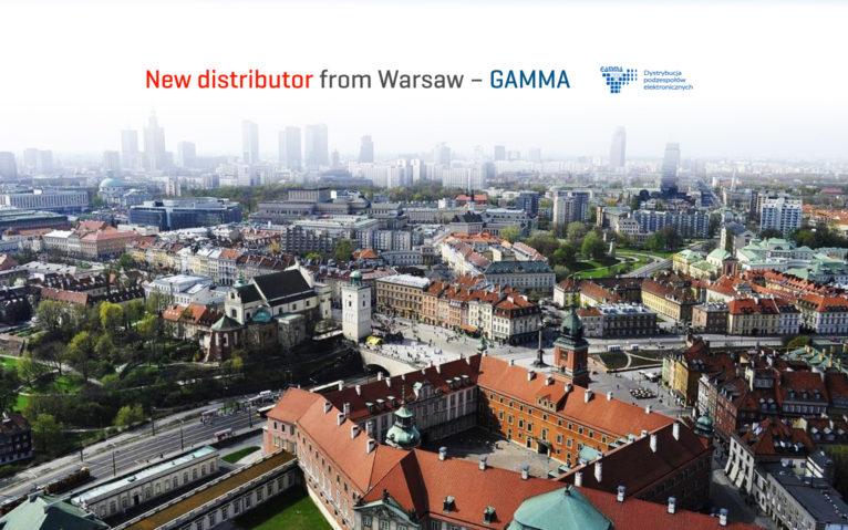 new distributor gamma