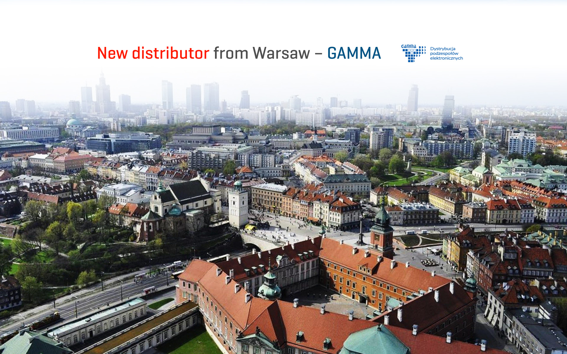We have a new distributor – Gamma