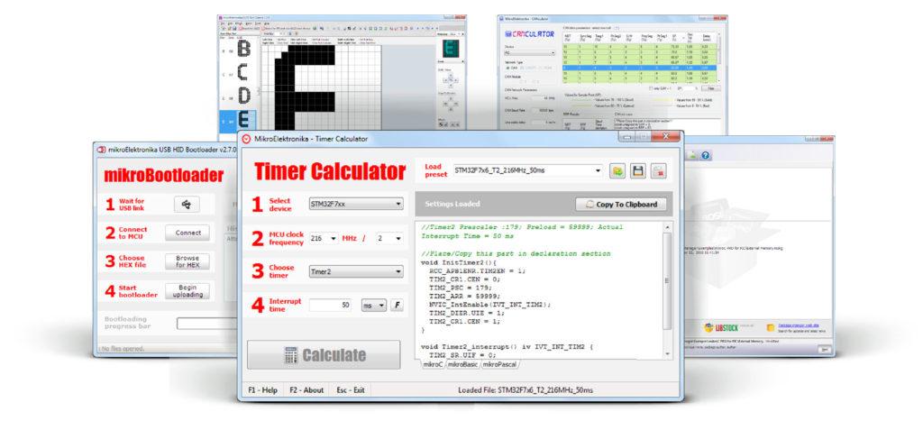 MikroElektronika Software Tools