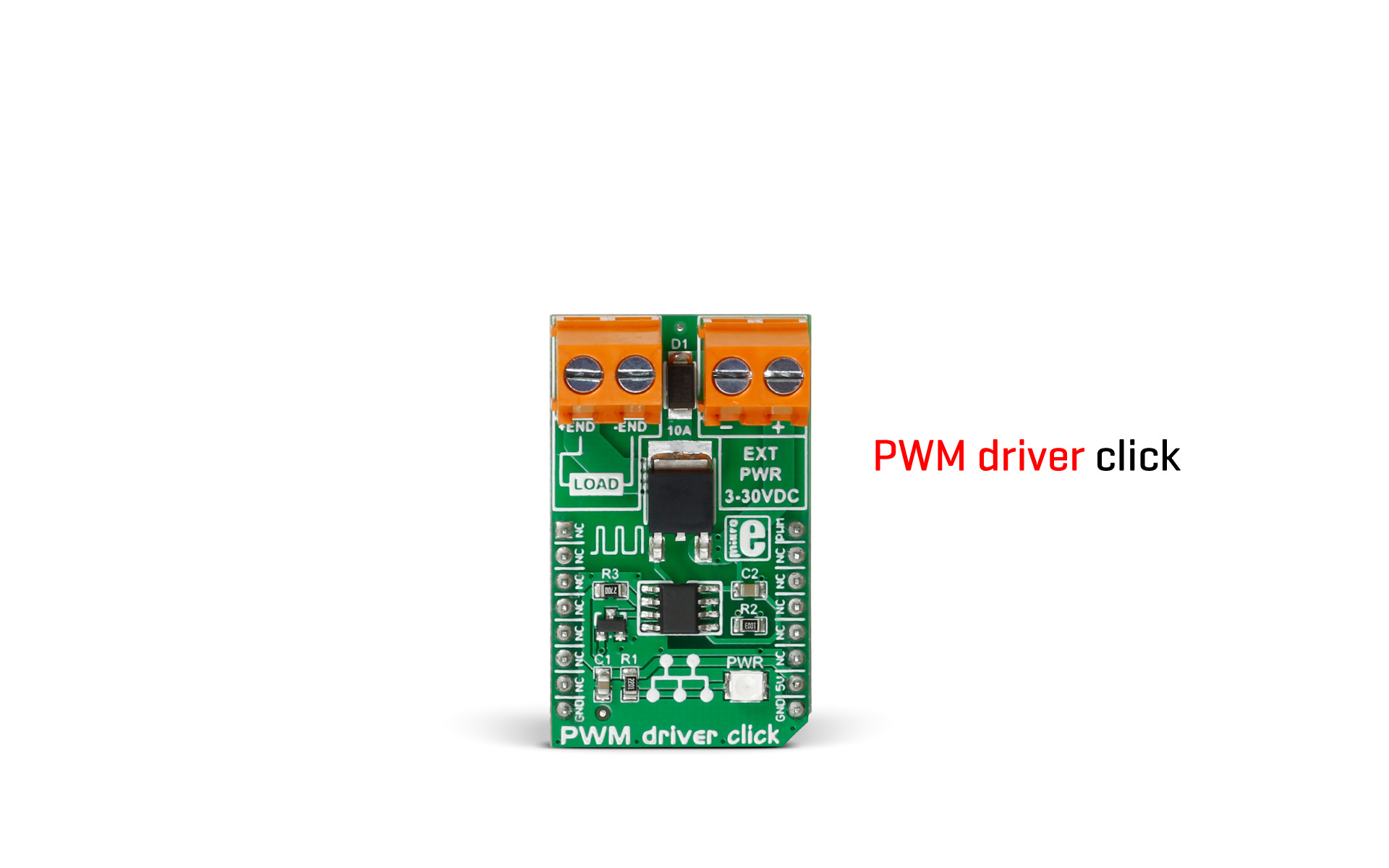 A new member of the motor control click board group