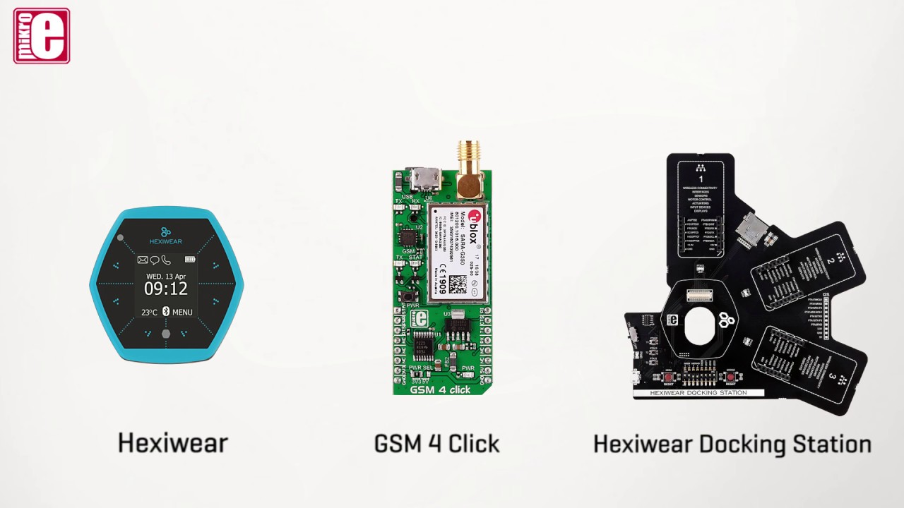 How to get an SMS from Hexiwear - a demo with GSM 4