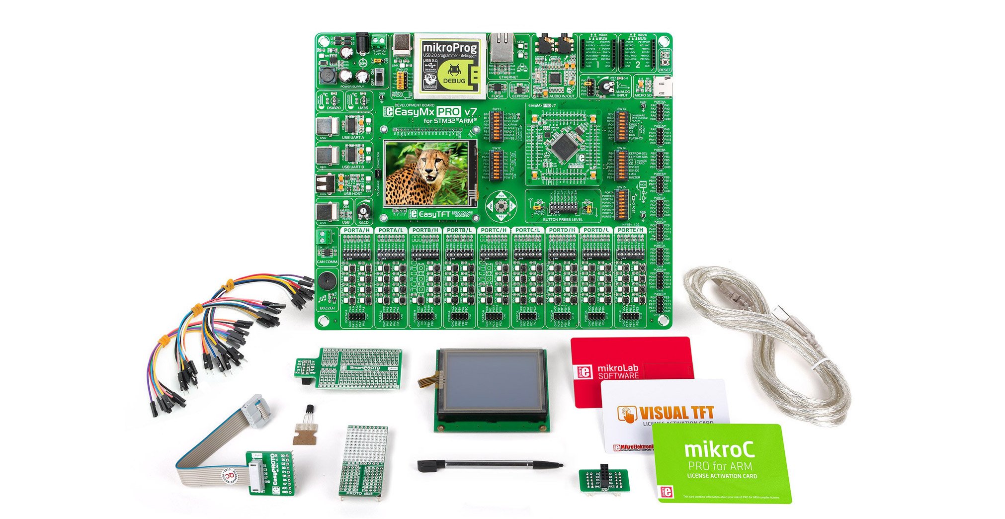 mikrolab kits for stm32