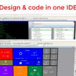 Design and code in oneIDE banner learn zoom