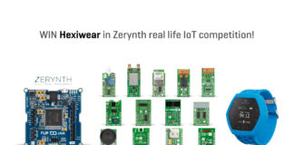 win Hexiwear in Zerynth IoT competiton
