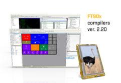 FT90x compiler v2.20 banner