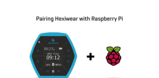 Pairing Hexiwear with Raspberry Pi banner