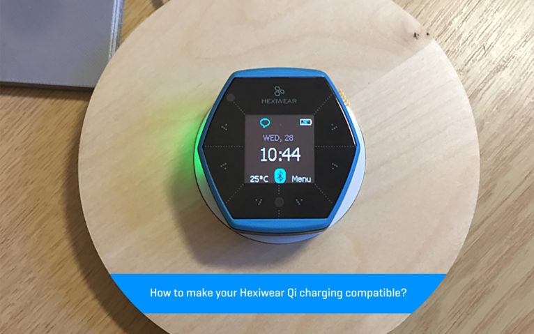 Here's how to make Hexiwear Qi charging compatible