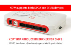 XDP OTP burner update banner news