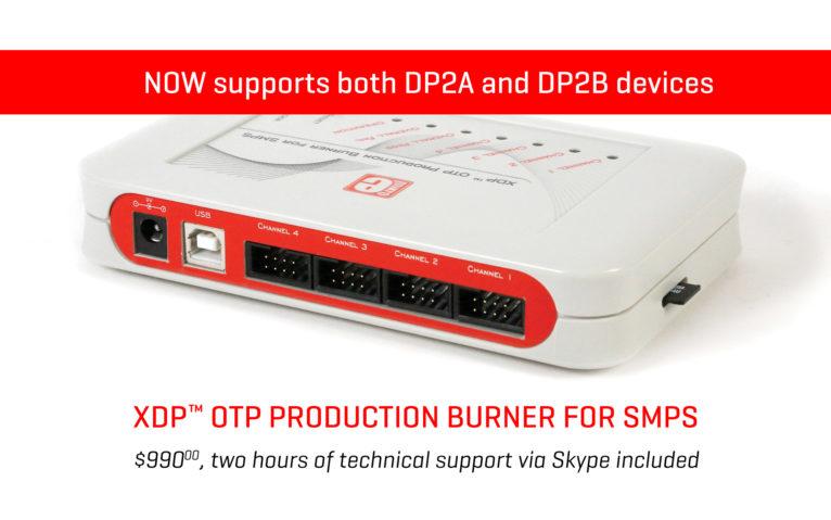 XDP OTP burner update banner news