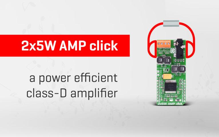 2x5W AMP click