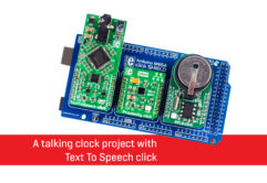 Talking clock project news banner