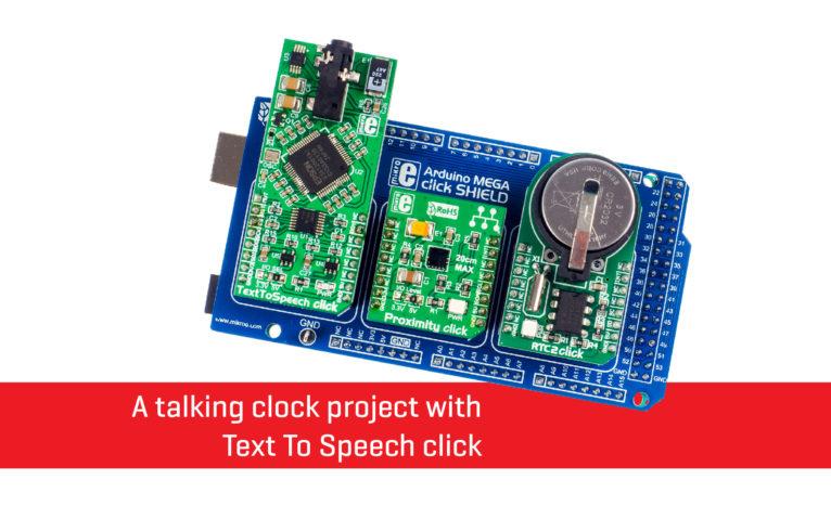 Talking clock project news banner