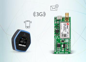 3G SARA click example