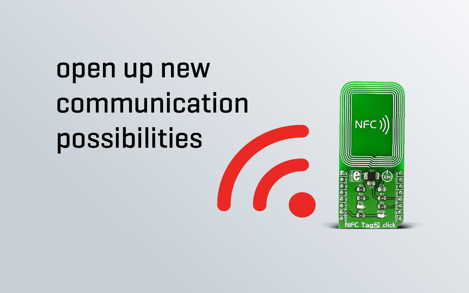 NFC Tag 2 click - no need for a battery