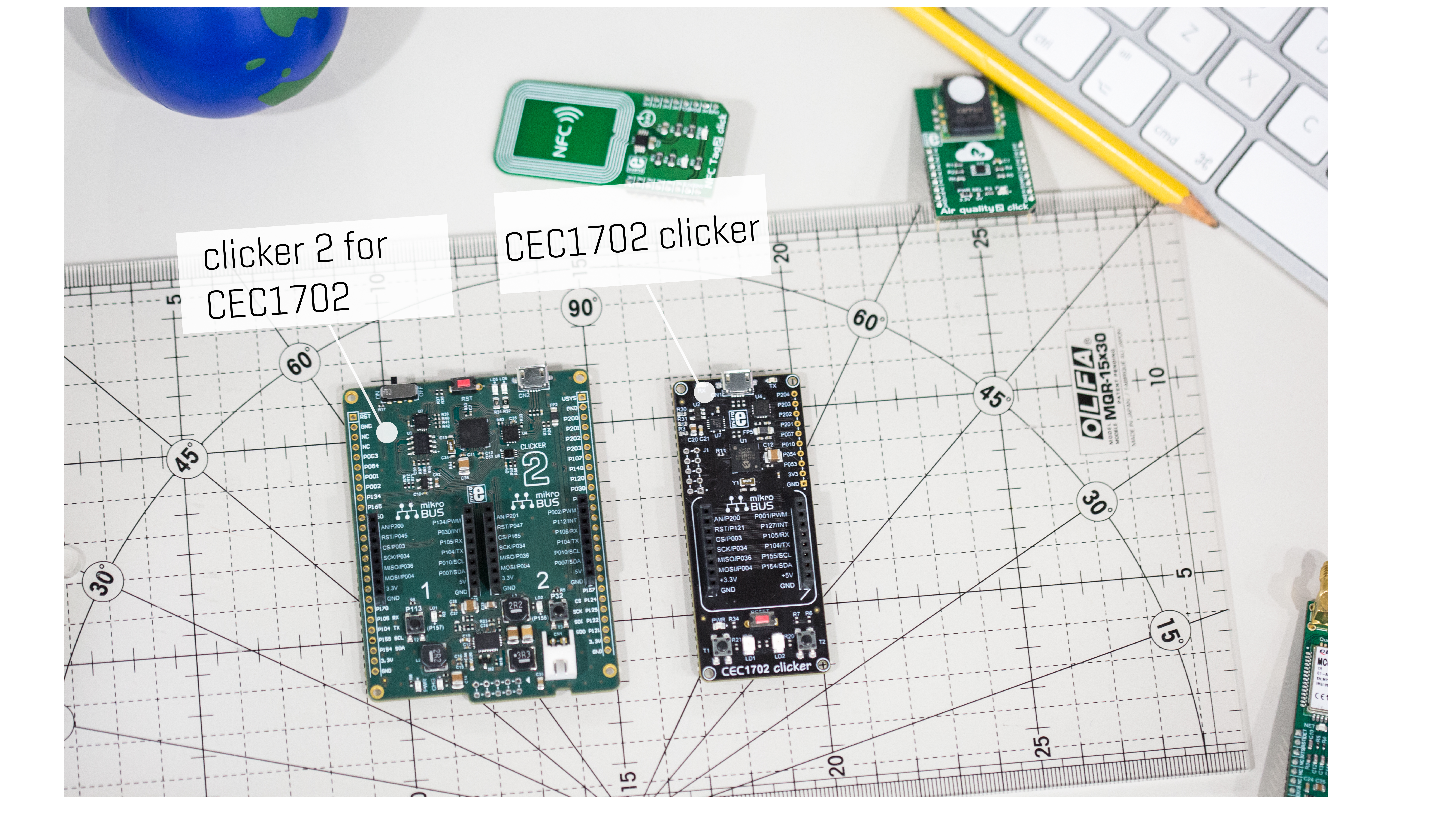 From idea to prototype in no time – clicker and clicker 2 for CEC1702 are out