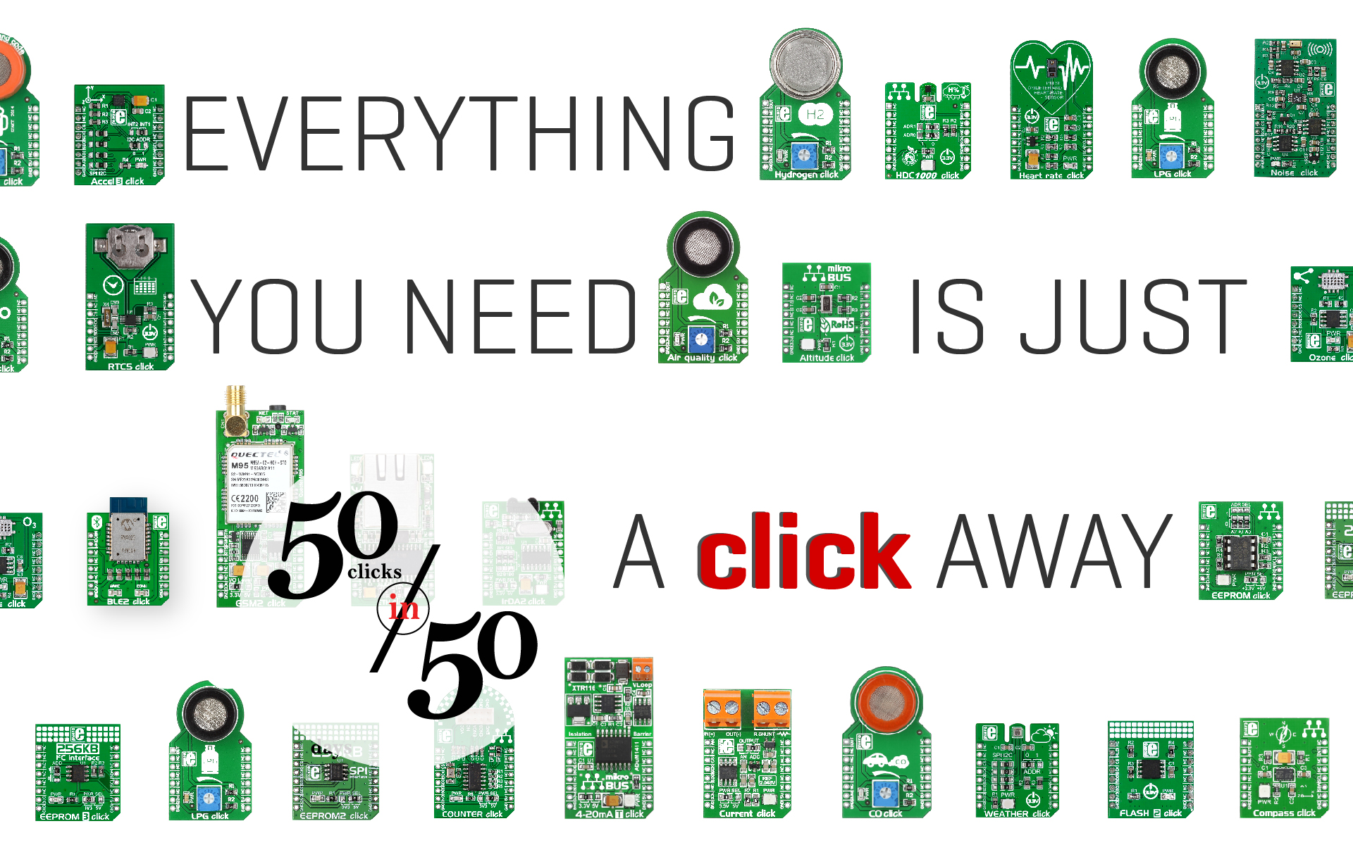 50 in 50 with Microchip– Everything you need is just a click away