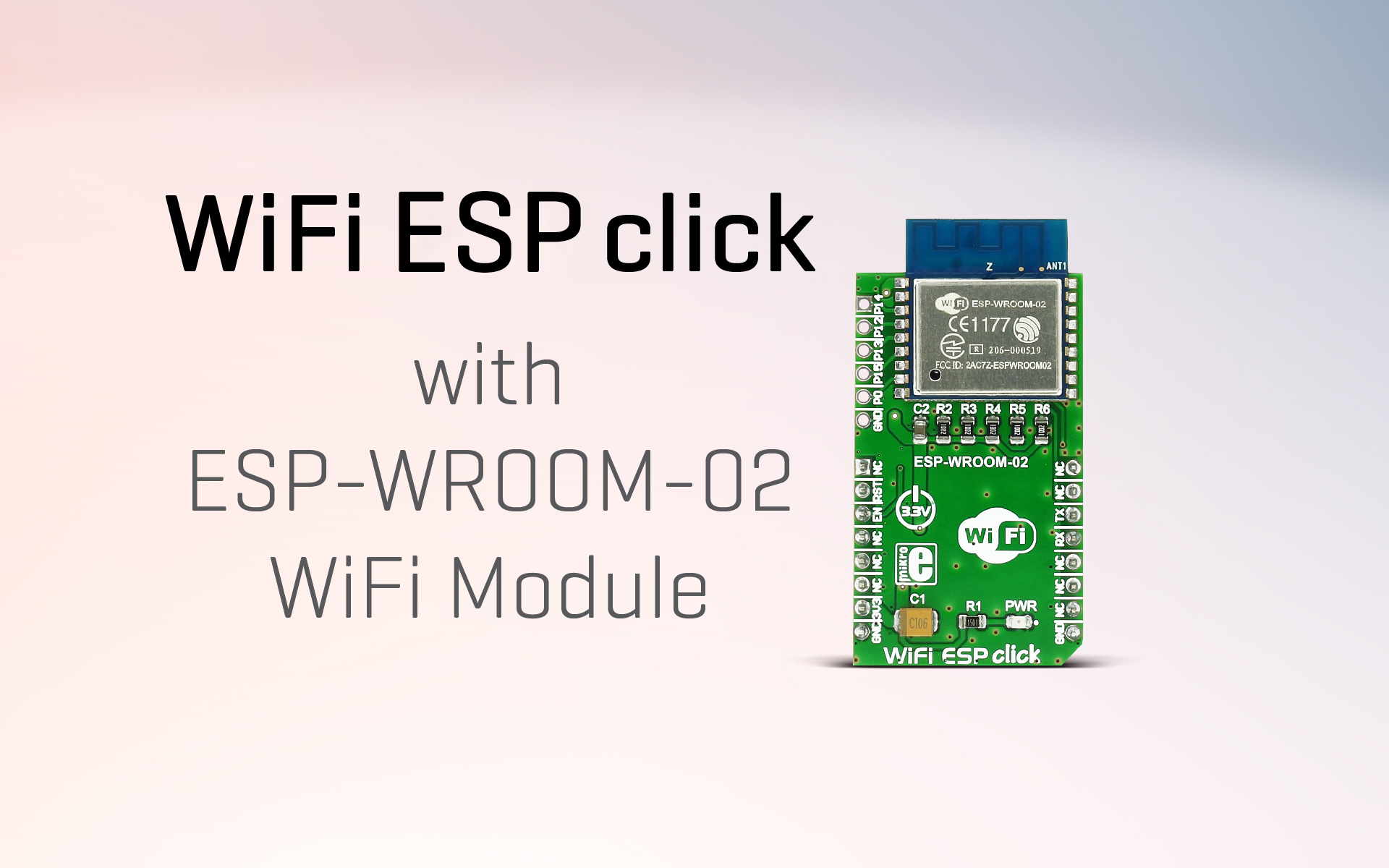 WiFi ESP click - be a part of the connected world