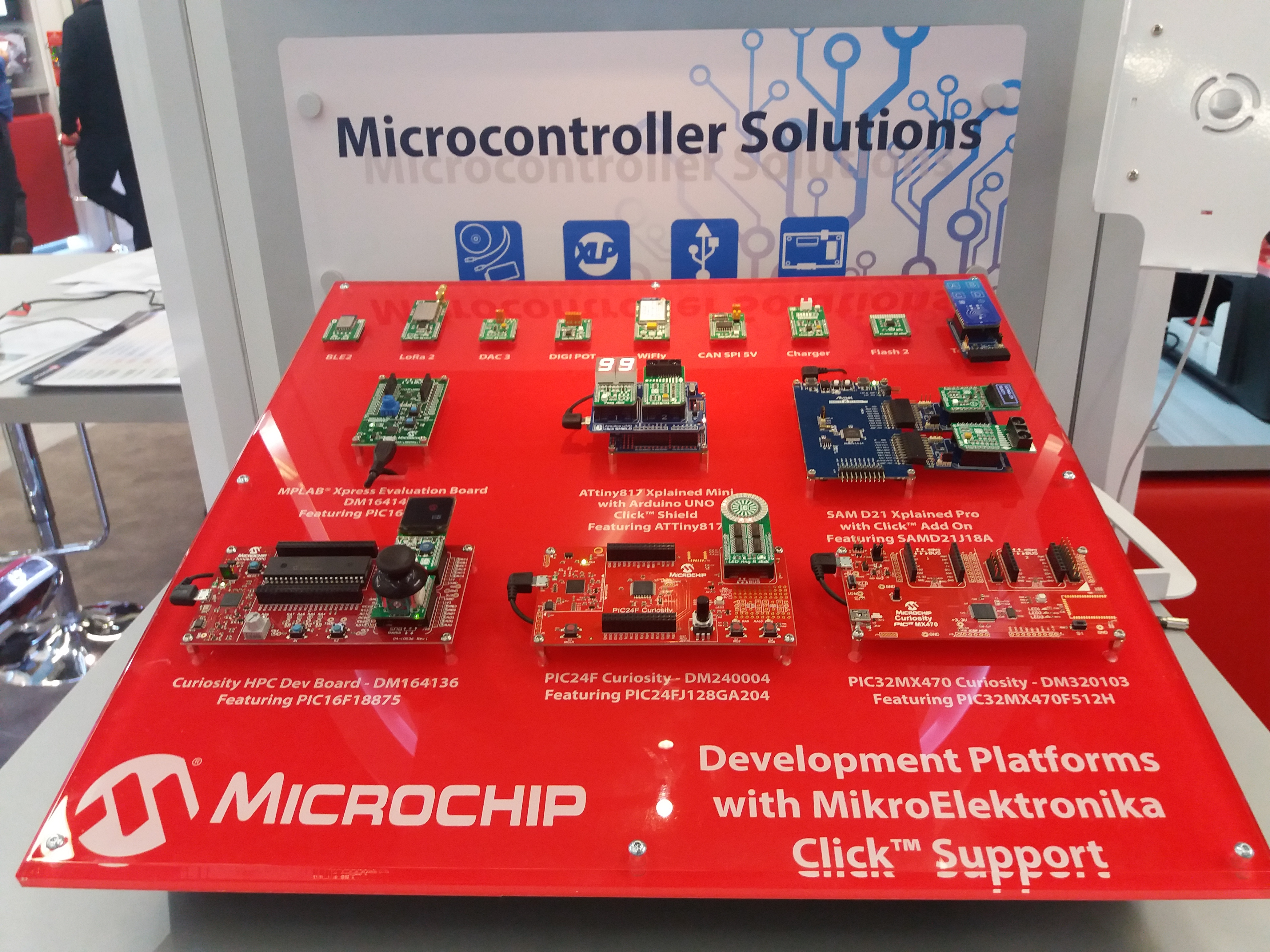 Photo report from Embedded World 2017