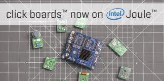 Intel Joule click shield news