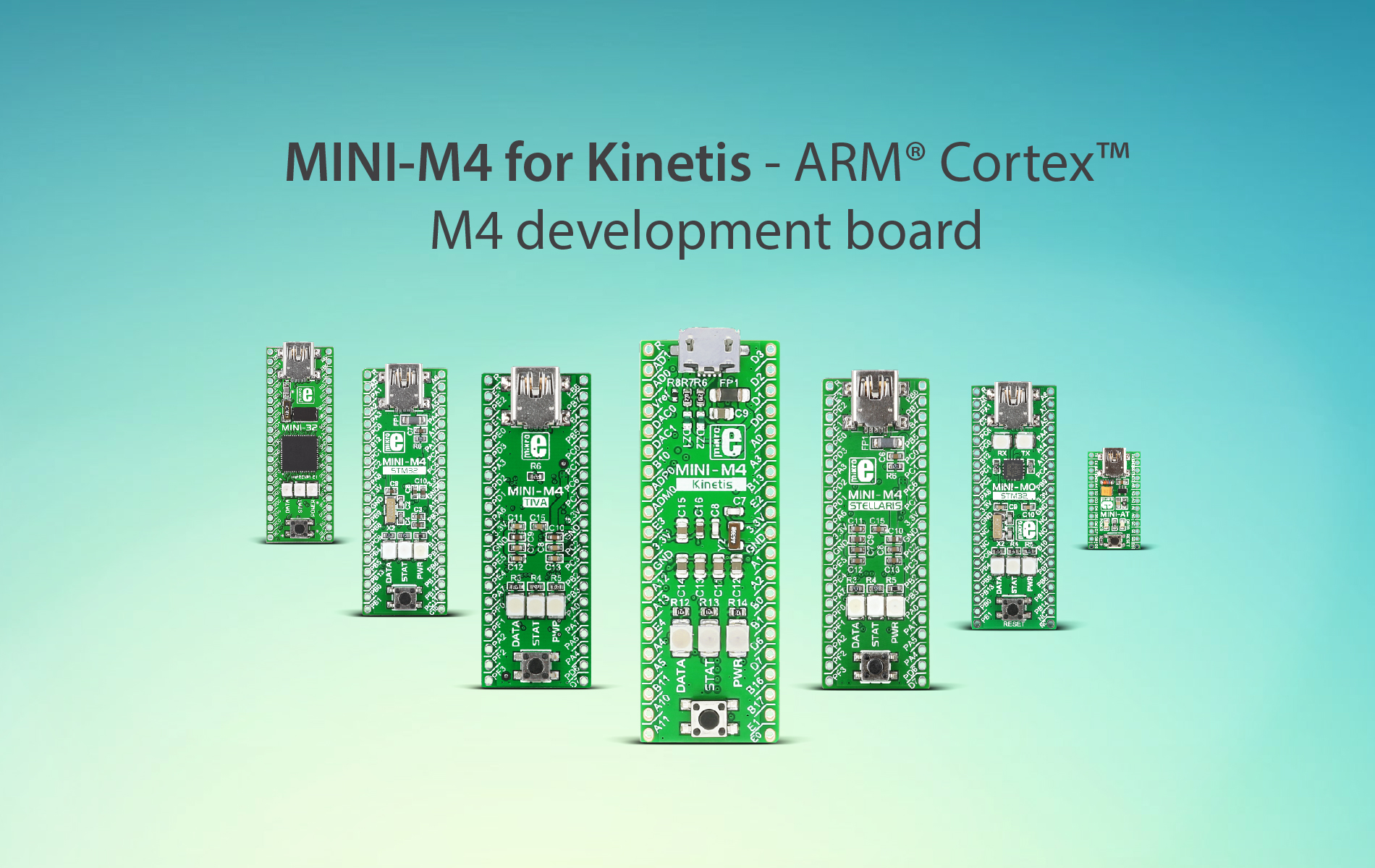 MINI-M4 for Kinetis — small but powerful development tool