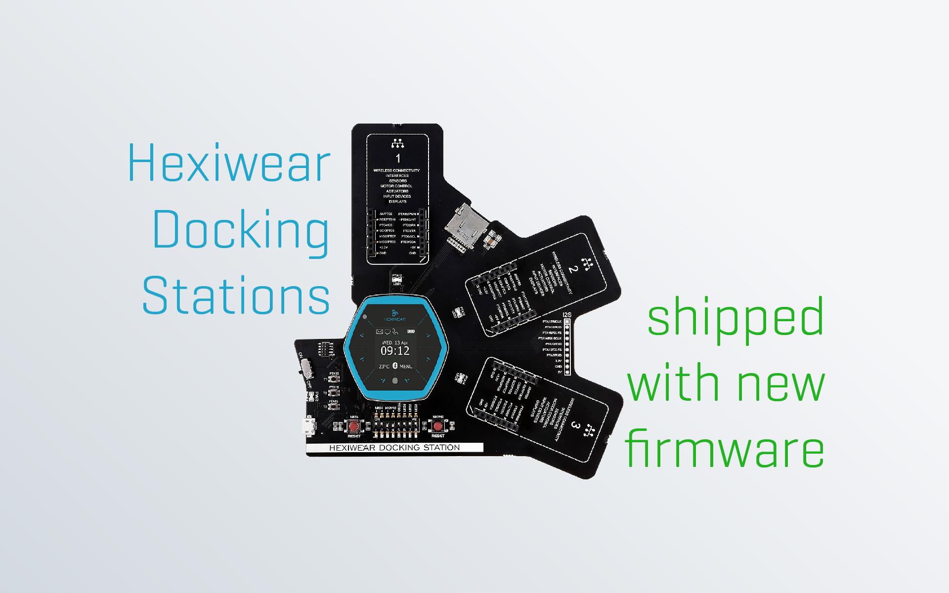 Hexiwear Docking station bootloader update