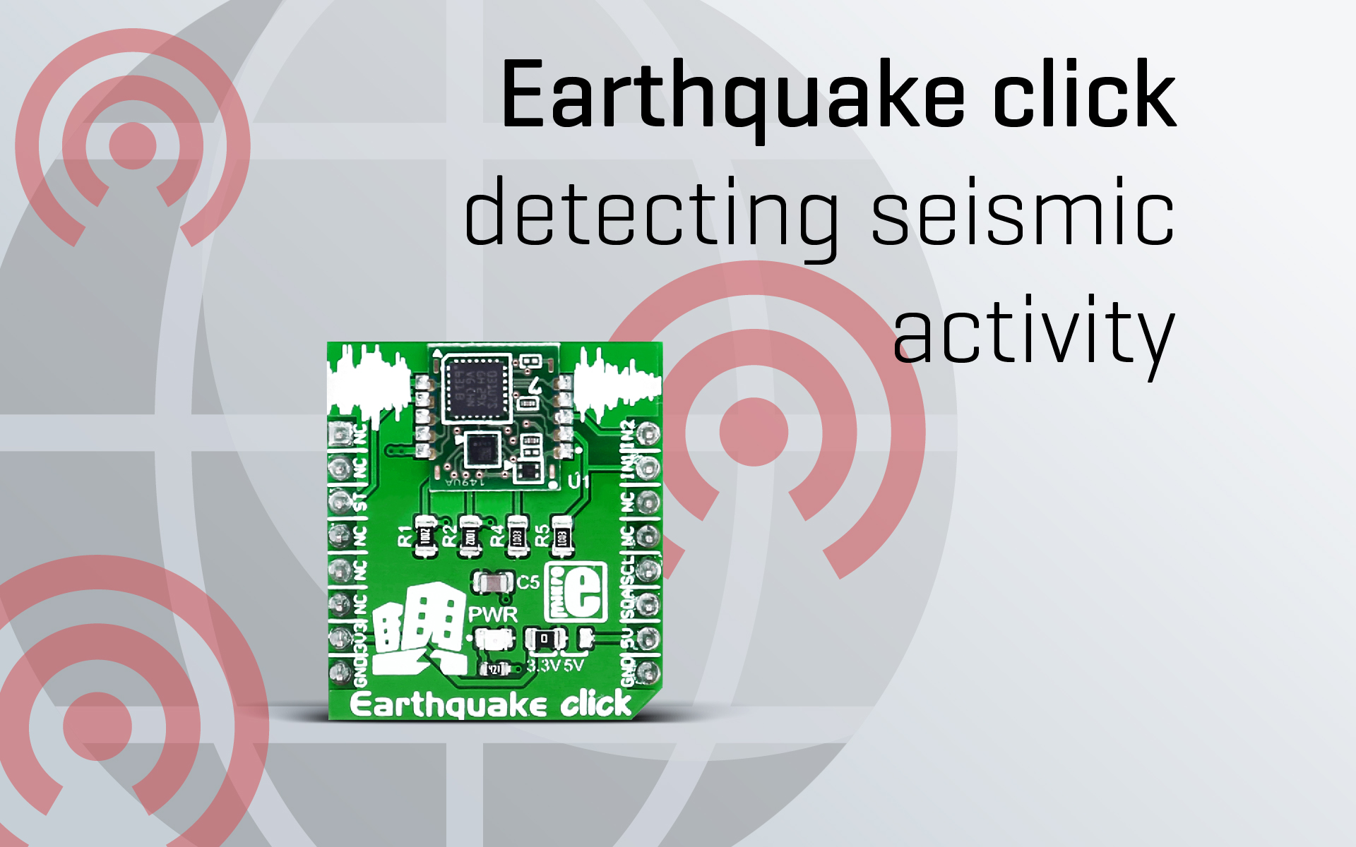Earthquake click – dragons, copper and low power consumption