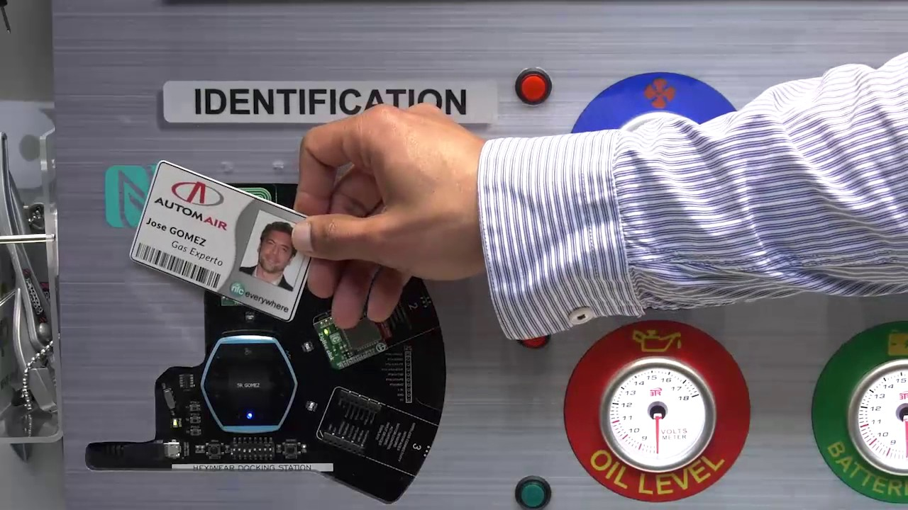 Smart Factory demo with NFC, ZigBee and Hexiwear