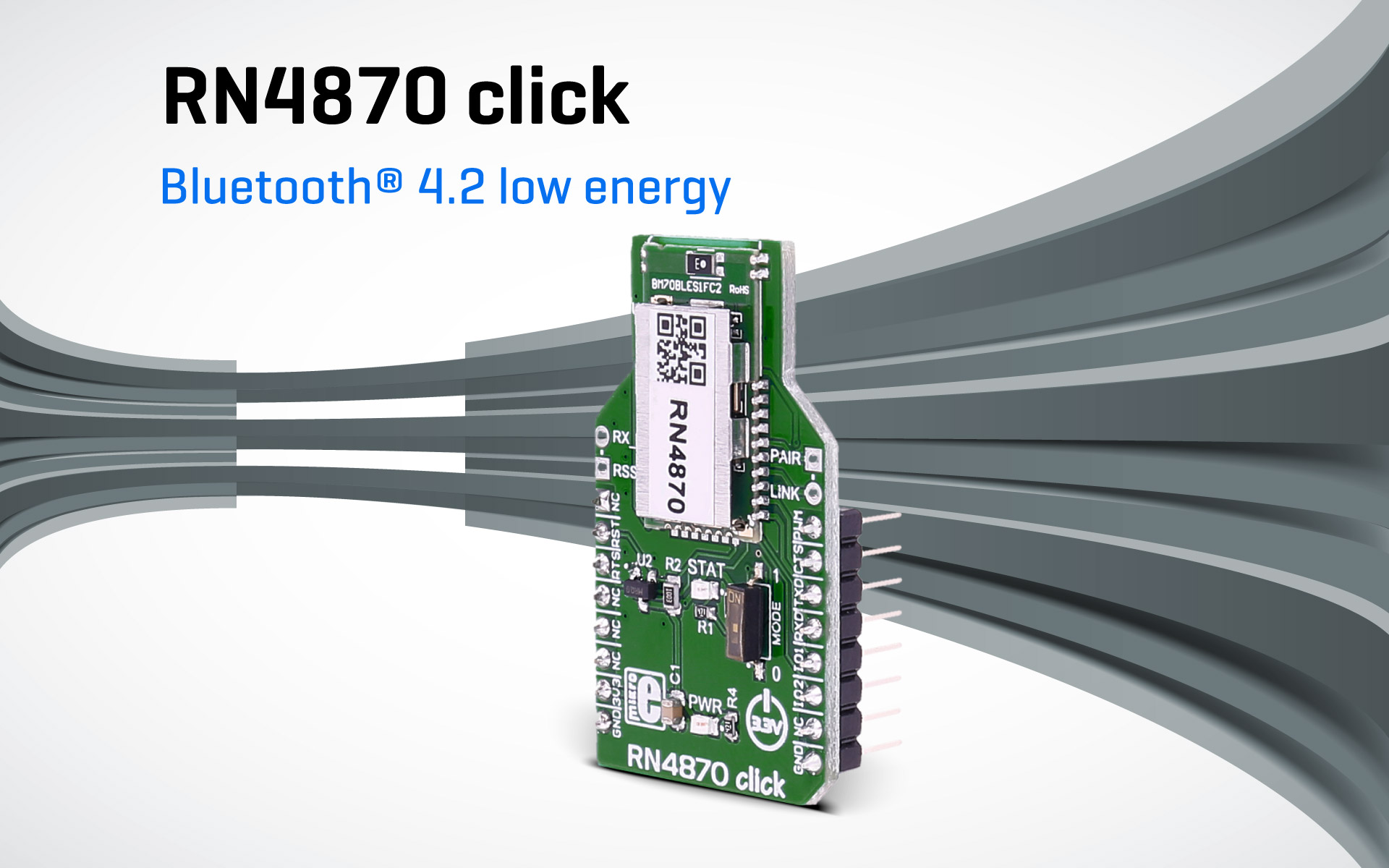 RN4870 click — Bluetooth® Low Energy 4.2