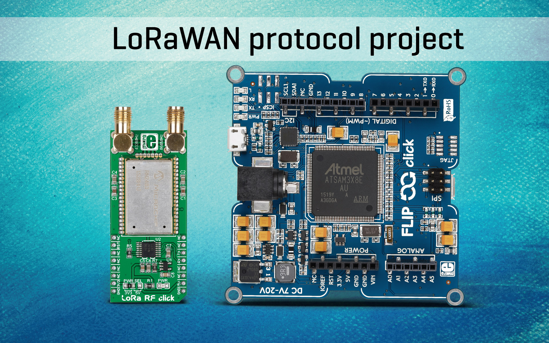 Flipclick And Lora Click A Lorawan Protocol Project Question Electronics Forum Circuits Projects Microcontrollers