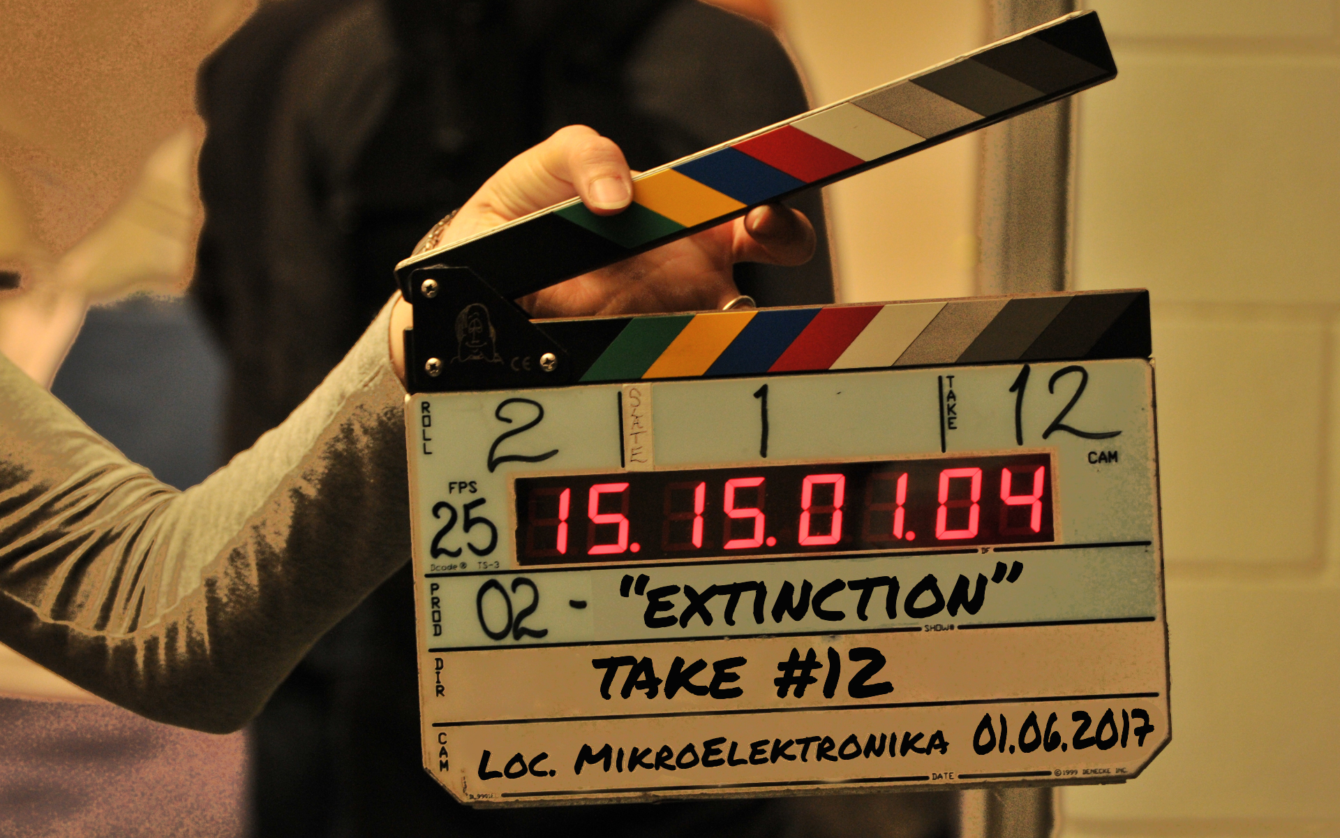 MikroElektronika was a film set for a day