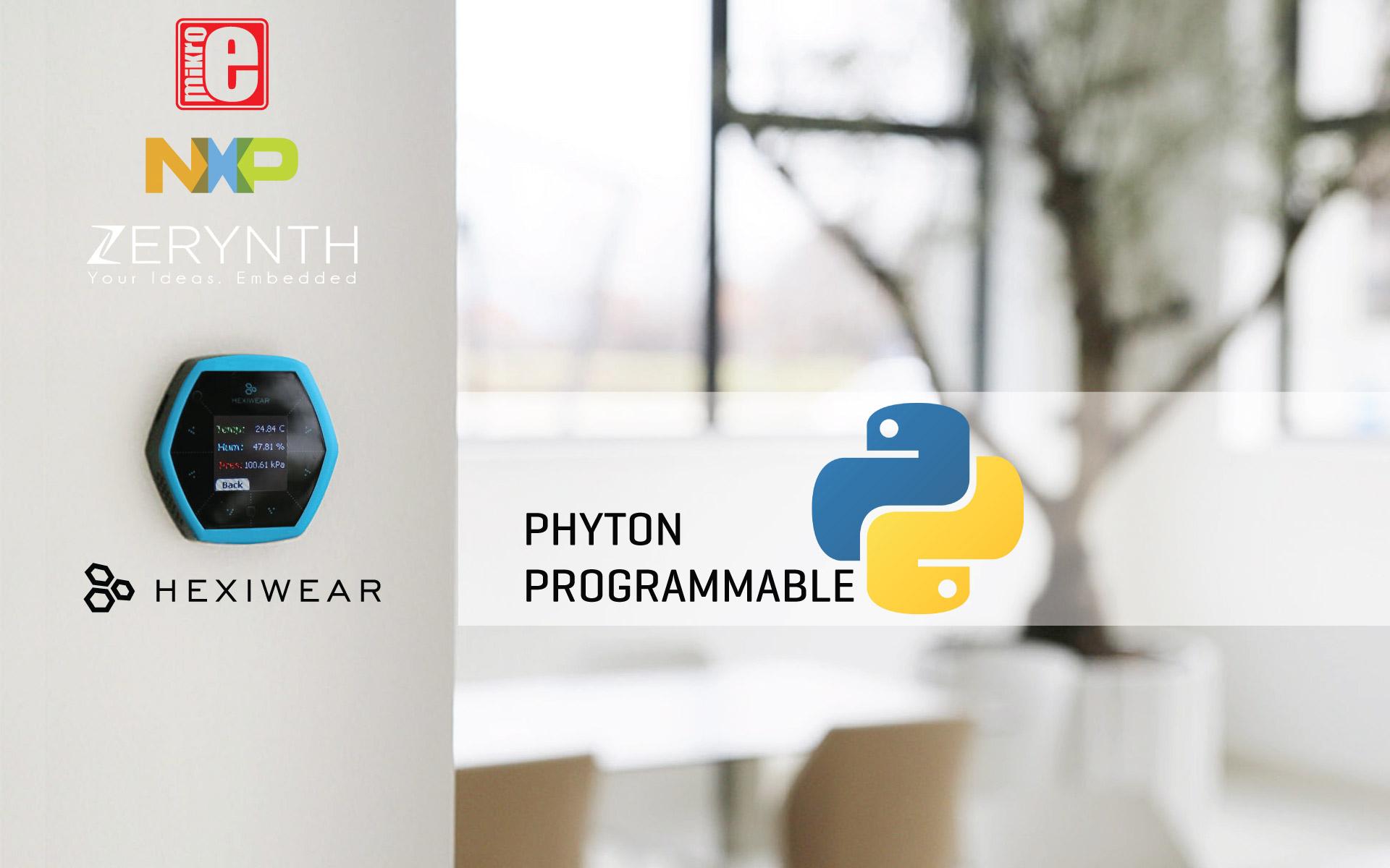 Programming Hexiwear in Python