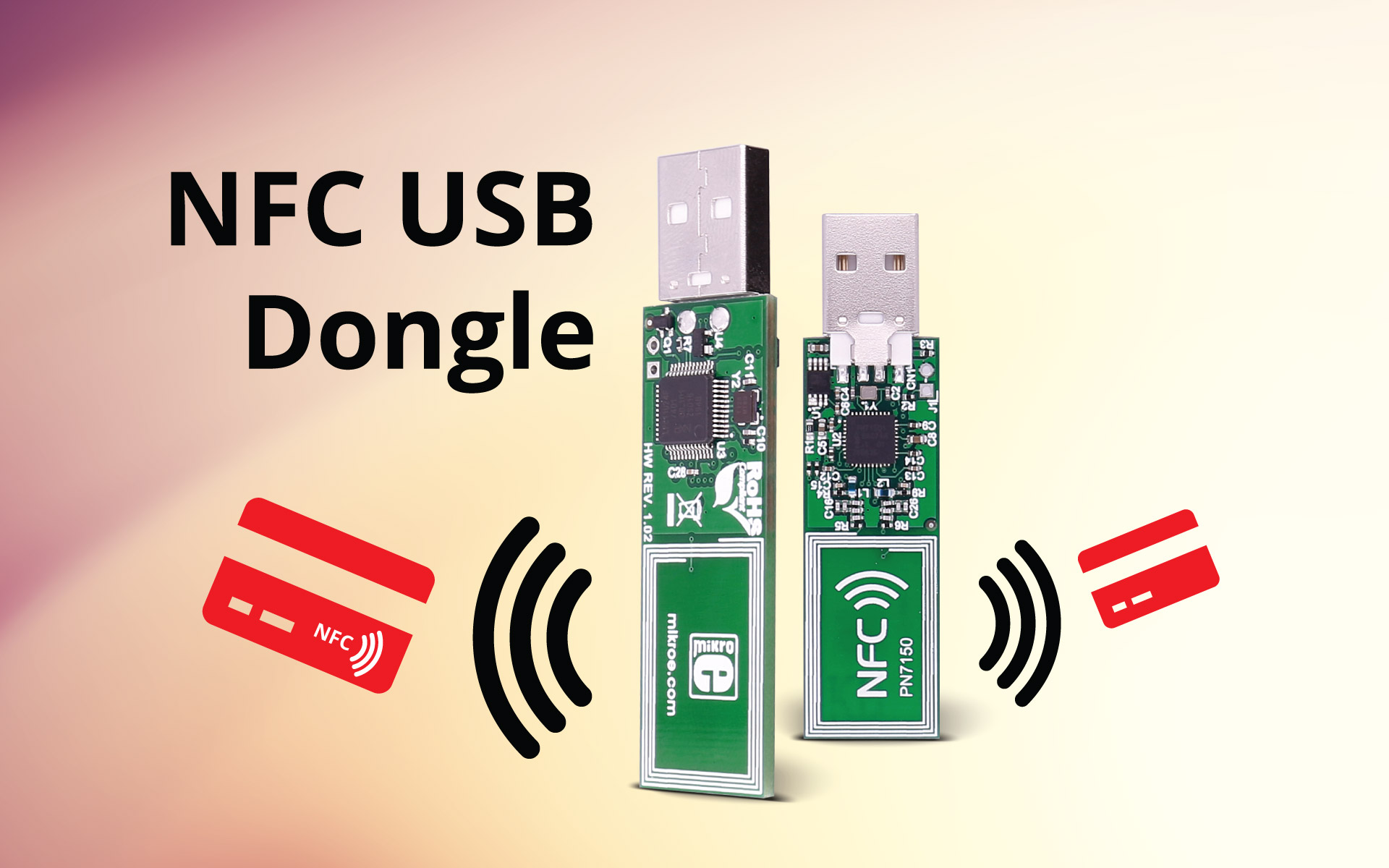 NFC USB Dongle - supports all NFC Forum modes