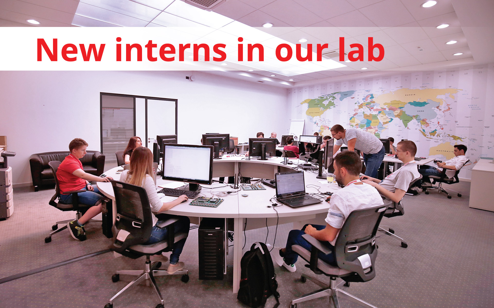 See what the interns are up to this July