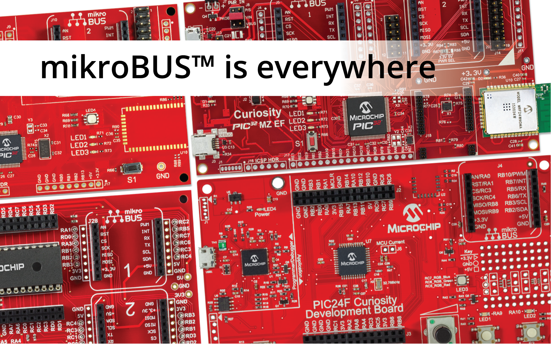 mikroBUS™ is growing and it's everywhere