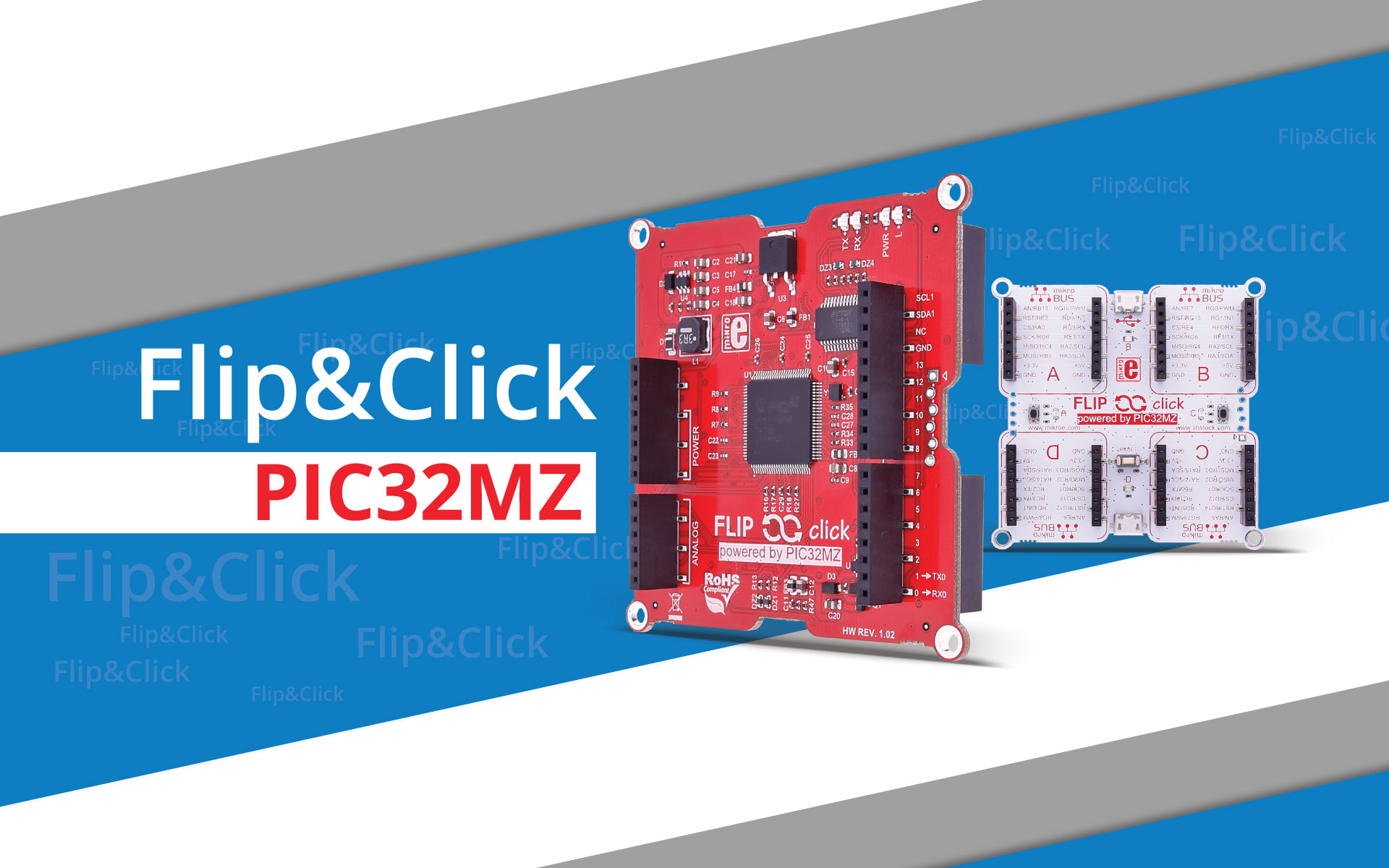 Flip&Click PIC32MZ - dual personality, endless possibilities