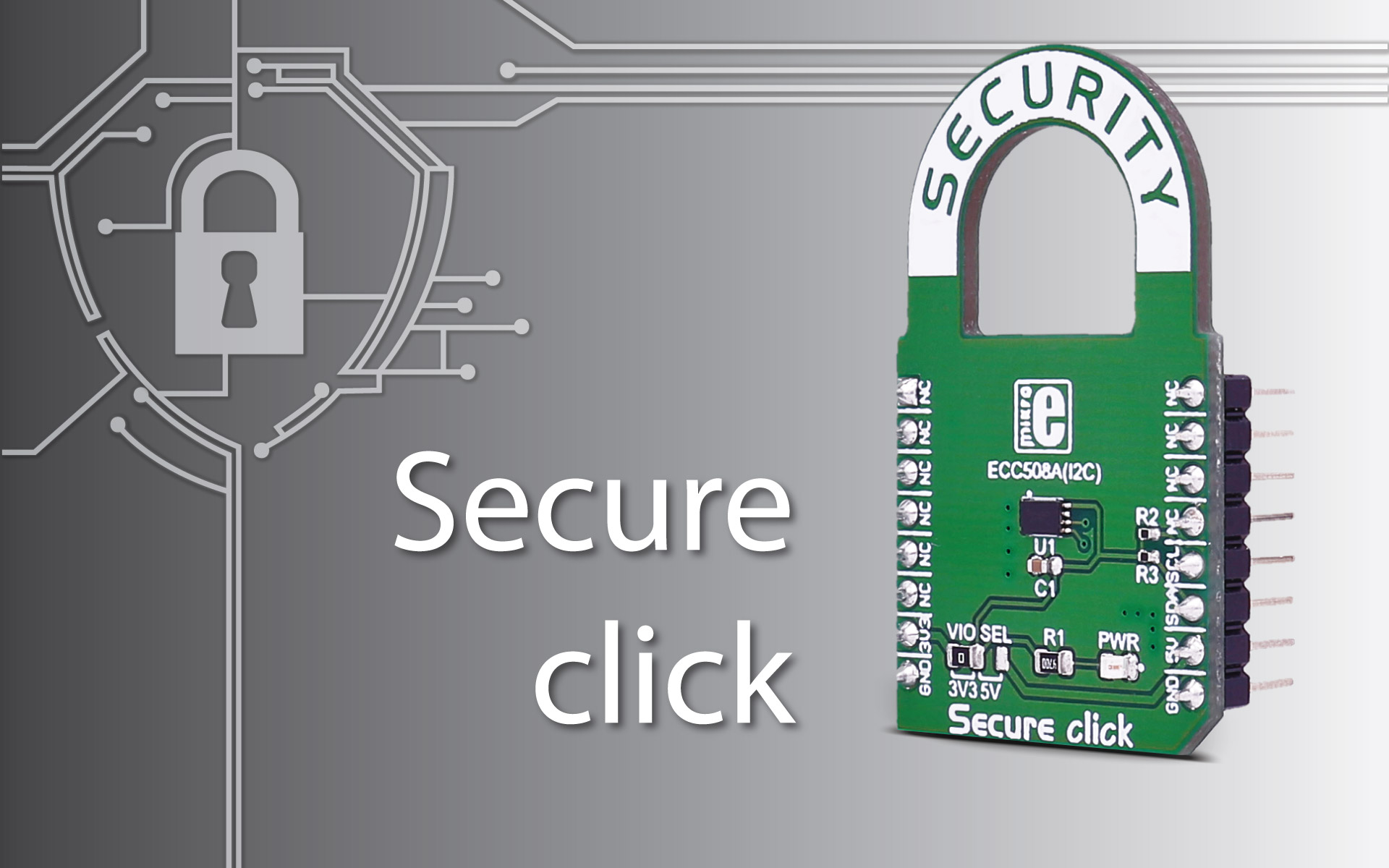 Secure click – storage of up to 16 keys