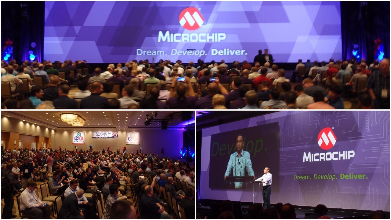 Microchip's MASTERs conference MikroElektronika