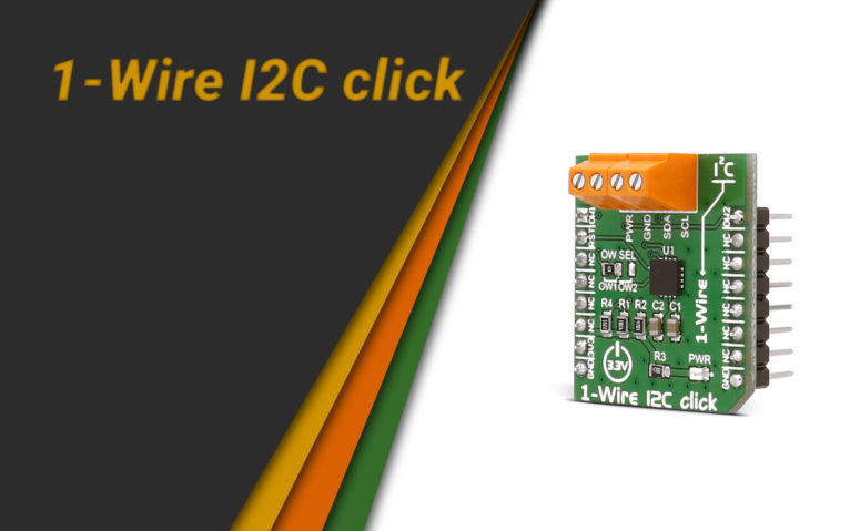 1-Wire I2C click news banner