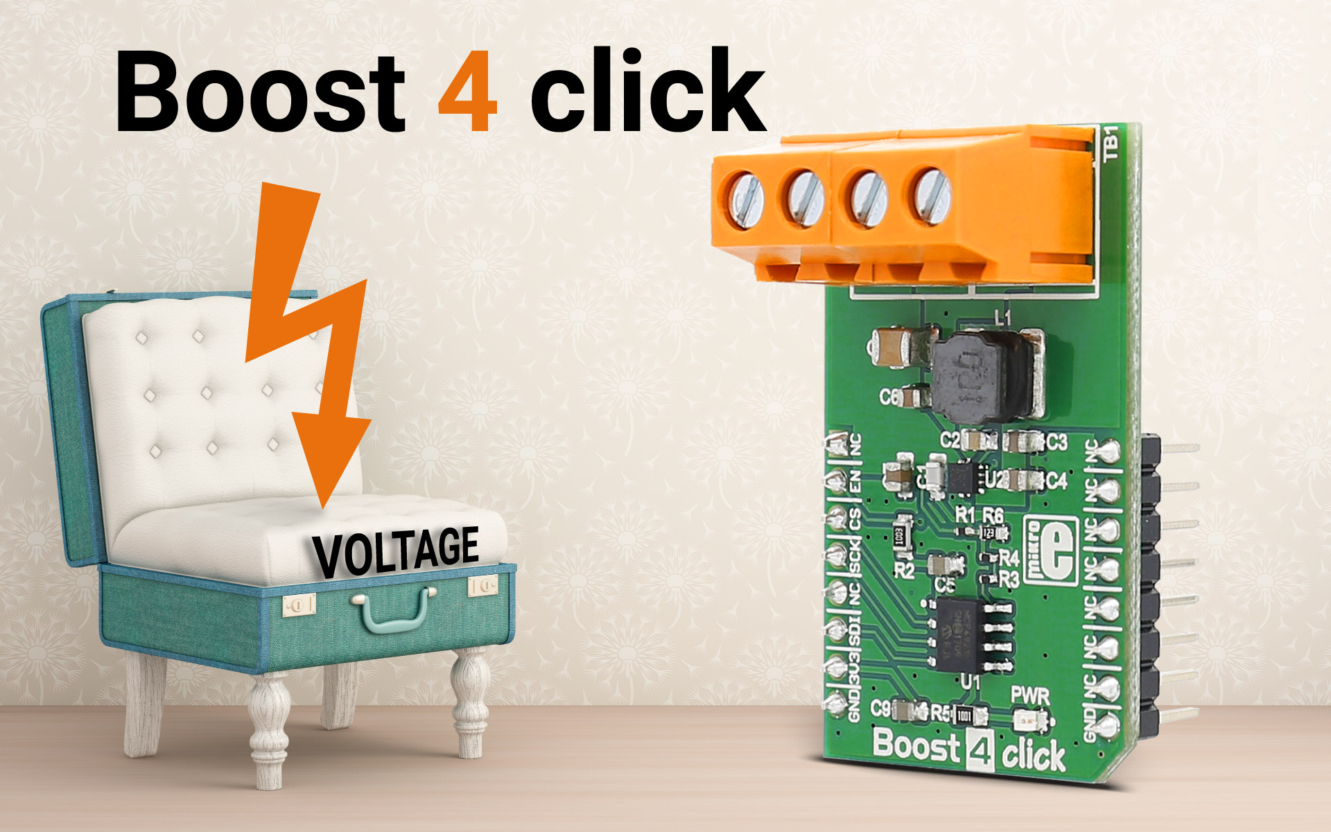 Boost 4 click - the power management solution for your next project