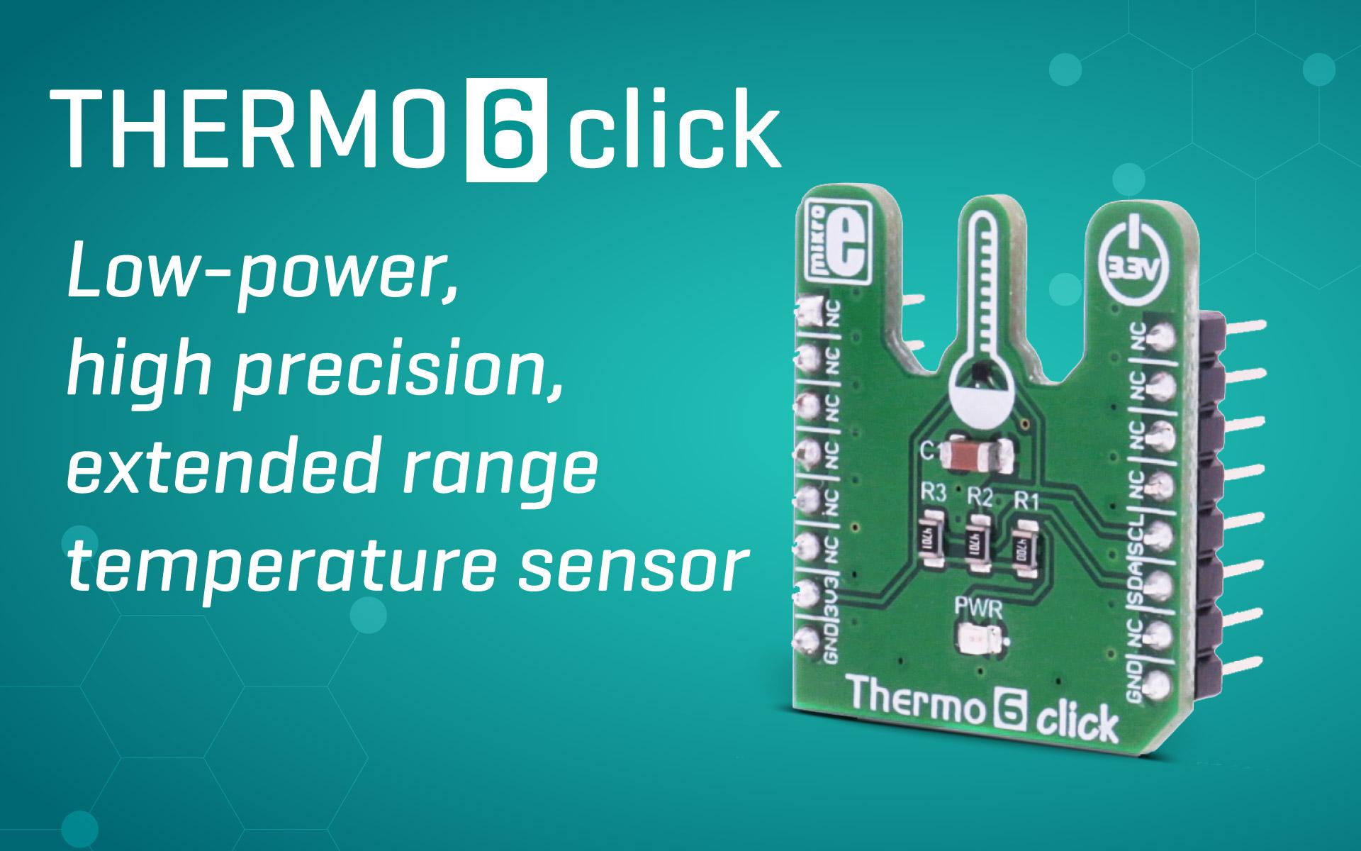 Thermo 6 click  - low power, high precision temperature sensor
