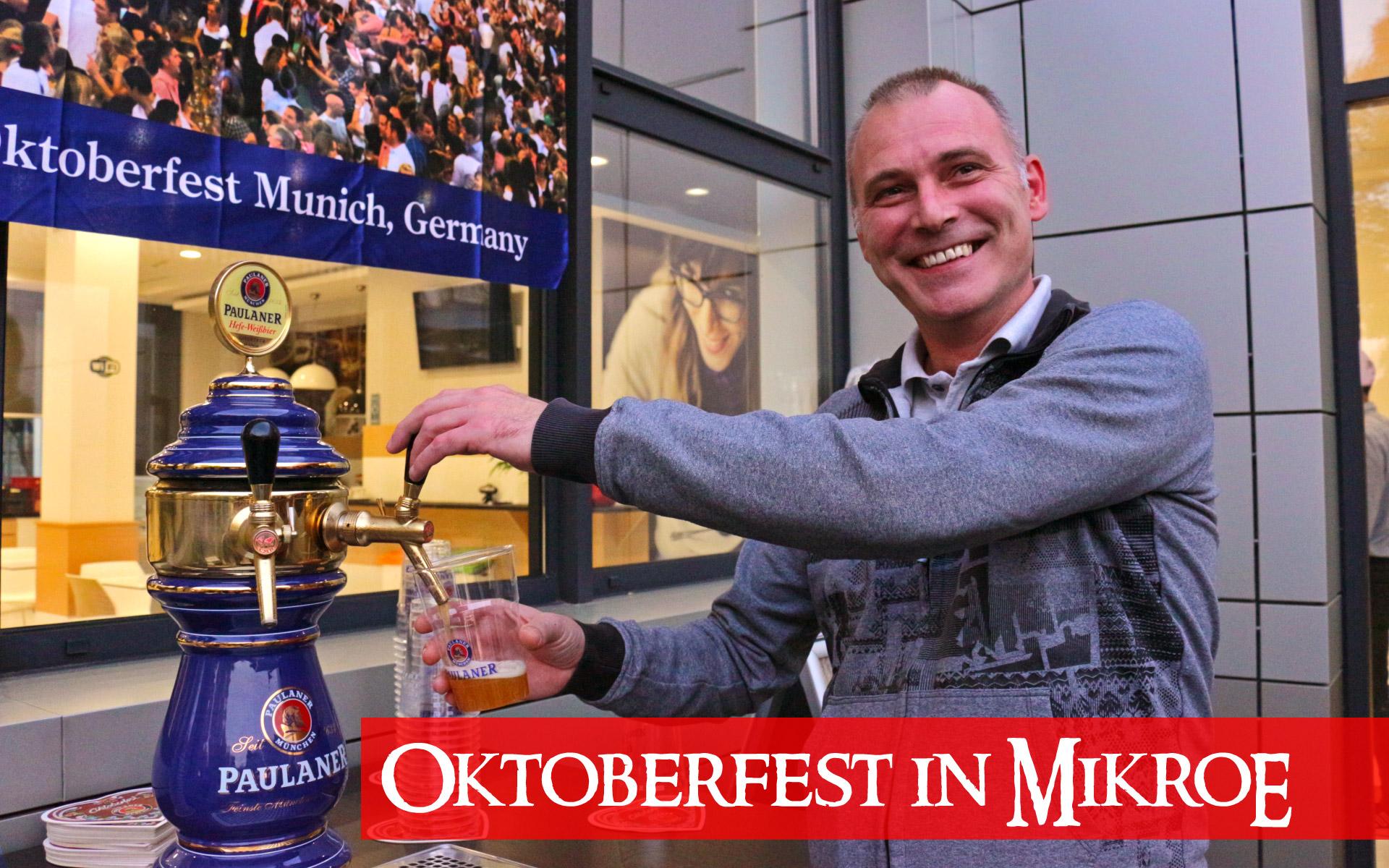 Oktoberfest in MikroElektronika - the best autumn party