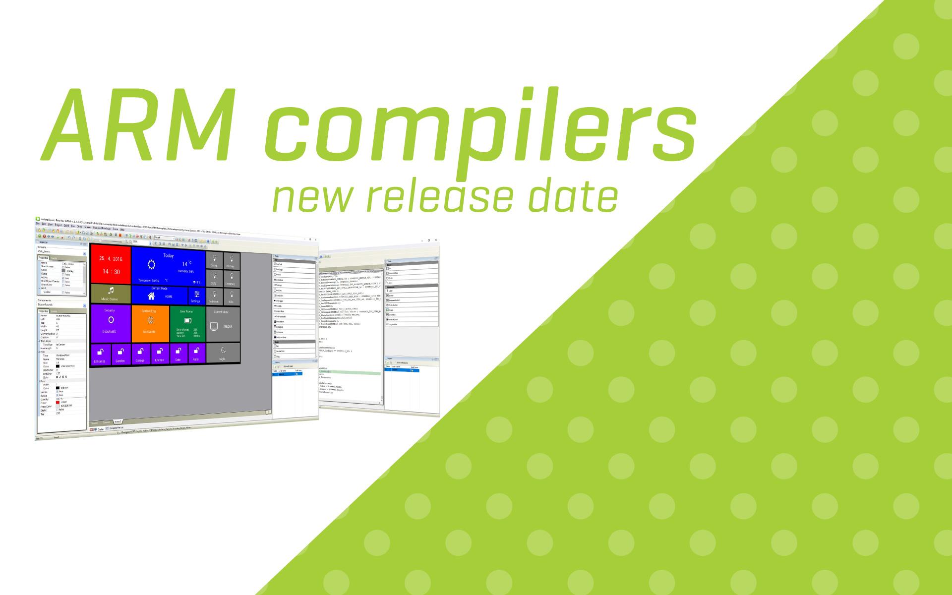 ARM compilers version 6.0.0 - new release date