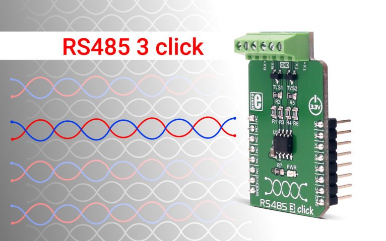 RS485 3 click – UART to RS422/RS485 communication interface