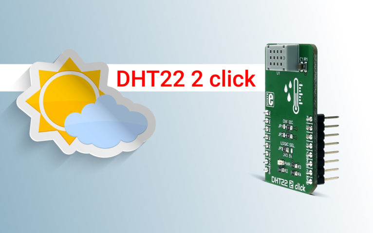 DHT22 2 click – accurate temperature and humidity measuring ensured