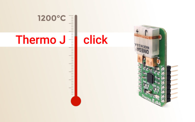 Thermo J click – measuring temperatures up to 1200°C