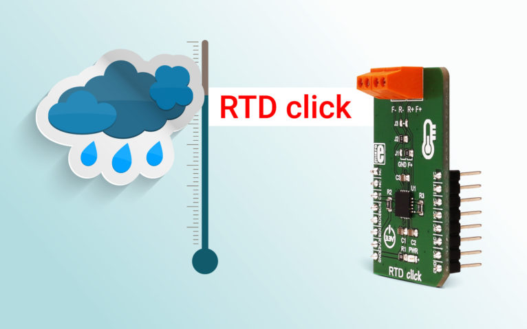 RTD click – resistance thermometer