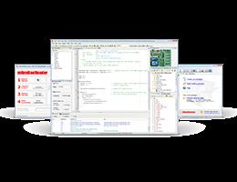 MikroElektronika Compilers and Software