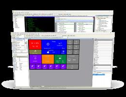 MikroElektronika Visual TFT Software